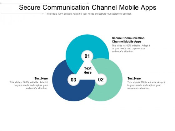 Secure Communication Channel Mobile Apps Ppt PowerPoint Presentation File Ideas Cpb Pdf