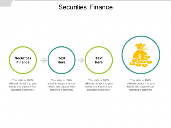 Securities Finance Ppt PowerPoint Presentation Pictures Cpb