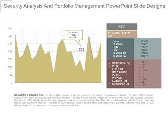 Security Analysis And Portfolio Management Powerpoint Slide Designs