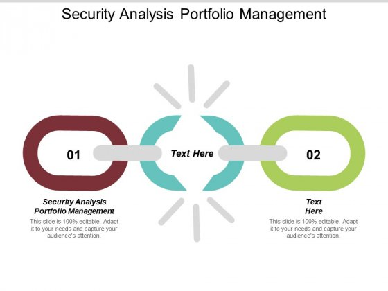 Security Analysis Portfolio Management Ppt PowerPoint Presentation Inspiration Guidelines Cpb