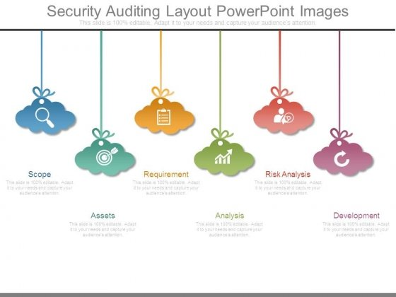 Security Auditing Layout Powerpoint Images