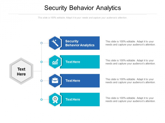 Security Behavior Analytics Ppt PowerPoint Presentation Inspiration Backgrounds Cpb