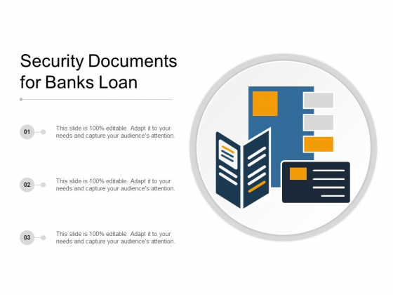 Security Documents For Banks Loan Ppt PowerPoint Presentation Visual Aids Outline