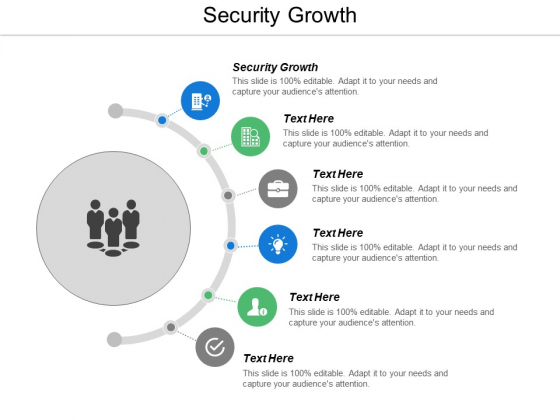 Security Growth Ppt Powerpoint Presentation Show Infographic Template Cpb