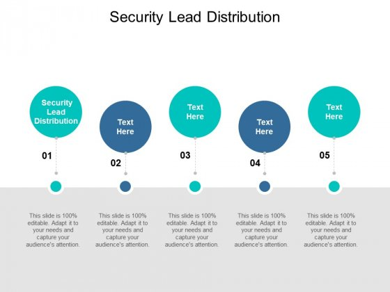 Security Lead Distribution Ppt PowerPoint Presentation Outline Skills Cpb