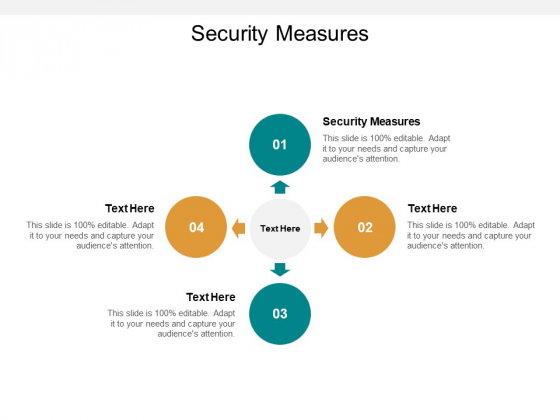 Security Measures Ppt PowerPoint Presentation Show Example File Cpb