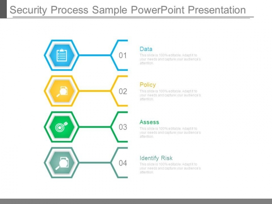 Security Process Sample Powerpoint Presentation