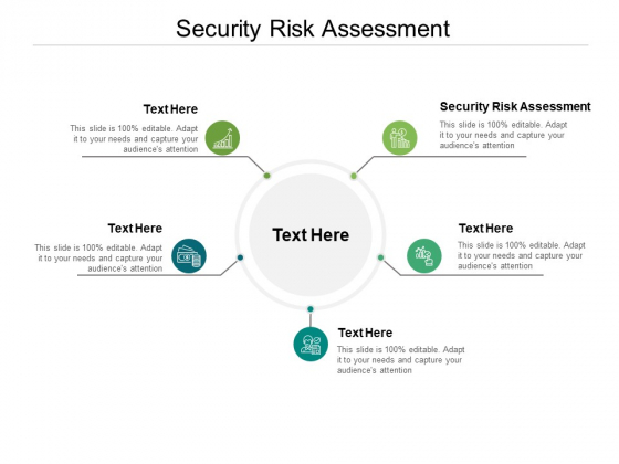 Security Risk Assessment Ppt PowerPoint Presentation Slides Grid Cpb