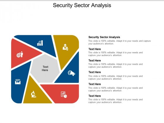 Security Sector Analysis Ppt PowerPoint Presentation Styles Show Cpb Pdf