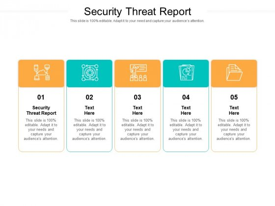Security Threat Report Ppt PowerPoint Presentation Background Cpb Pdf