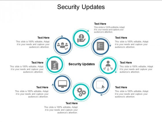 Security Updates Ppt PowerPoint Presentation Infographic Template Images Cpb