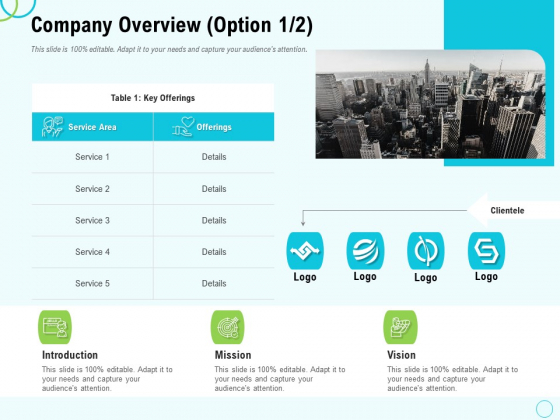 Seed Capital Company Overview Introduction Ppt PowerPoint Presentation Slides Vector PDF