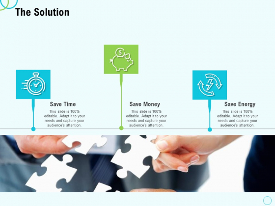 Seed Capital The Solution Ppt PowerPoint Presentation Inspiration Introduction PDF