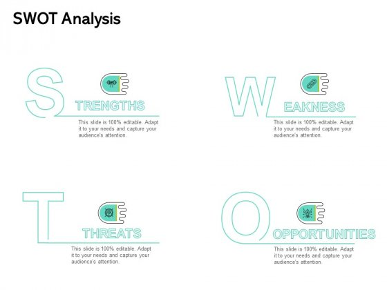Seed Funding Pitch Deck SWOT Analysis Ppt Styles Slides PDF
