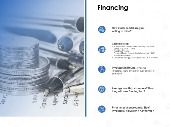 Seed Investment Financing Ppt Gallery Visual Aids PDF