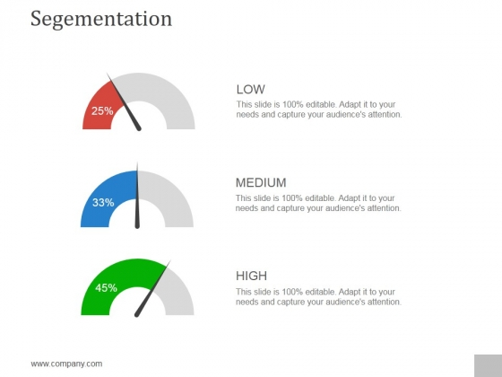 Segementation Ppt PowerPoint Presentation Summary