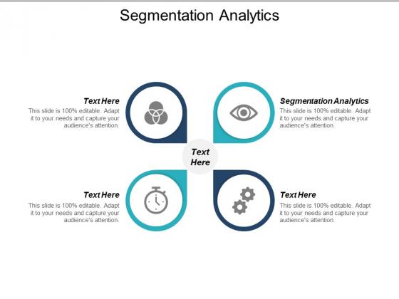 Segmentation Analytics Ppt PowerPoint Presentation Slides Format Cpb