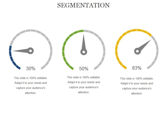 Segmentation Ppt PowerPoint Presentation Layouts Display