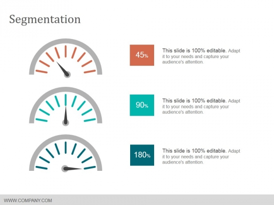 Segmentation Ppt PowerPoint Presentation Pictures Templates