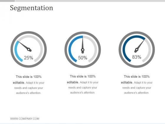 Segmentation Ppt PowerPoint Presentation Shapes