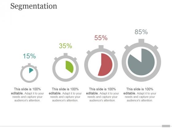 Segmentation Ppt PowerPoint Presentation Slides