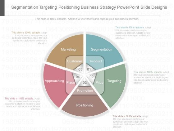 Segmentation Targeting Positioning Business Strategy Powerpoint Slide Designs