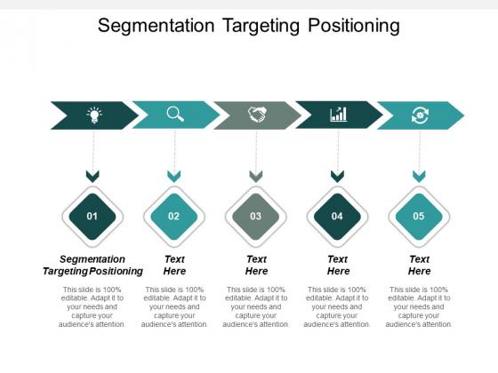 Segmentation Targeting Positioning Ppt PowerPoint Presentation Icon Background Image Cpb