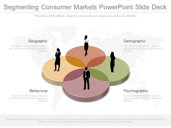 Segmenting Consumer Markets Powerpoint Slide Deck
