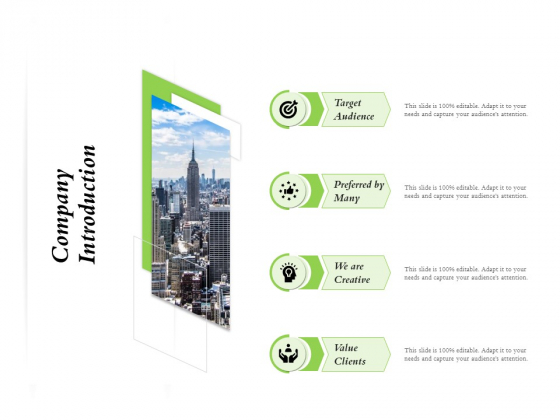 Select Of Organizational Model That Supports Your Strategy Company Introduction Ppt Gallery PDF