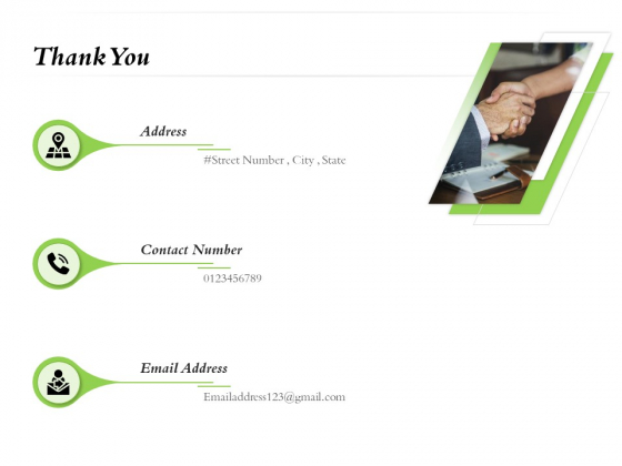Select Of Organizational Model That Supports Your Strategy Thank You Ppt Pictures Example PDF