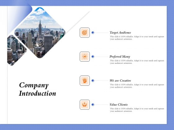 Selecting The Right Channel Strategy Company Introduction Ppt PowerPoint Presentation Gallery Outline PDF
