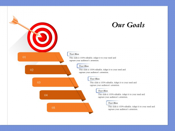 Selecting The Right Channel Strategy Our Goals Ppt PowerPoint Presentation Inspiration Graphic Images PDF