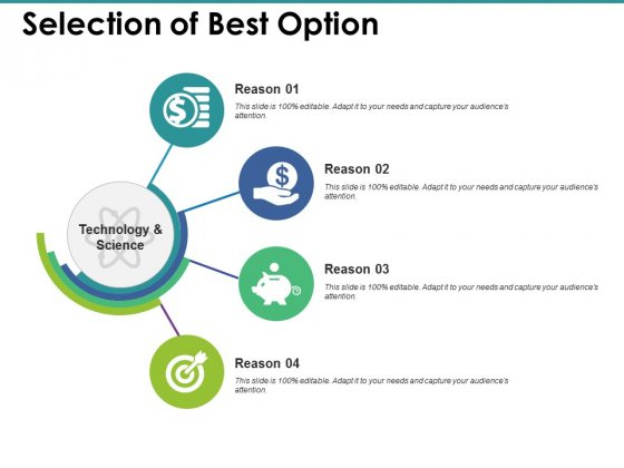 Selection Of Best Option Ppt PowerPoint Presentation Show Graphics Design