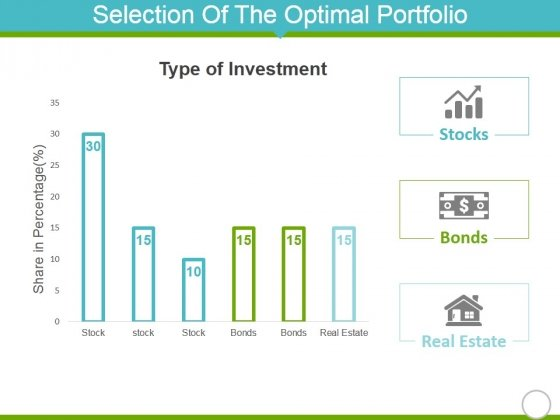 Selection Of The Optimal Portfolio Template 1 Ppt PowerPoint Presentation Model Themes