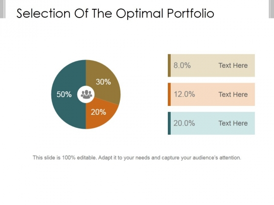 Selection Of The Optimal Portfolio Template 2 Ppt PowerPoint Presentation Background Image