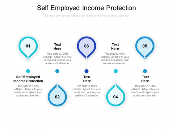 Self Employed Income Protection Ppt PowerPoint Presentation Layouts Visuals Cpb Pdf