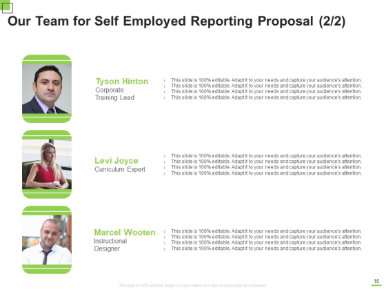Self_Employed_Reporting_Proposal_Ppt_PowerPoint_Presentation_Complete_Deck_With_Slides_Slide_15