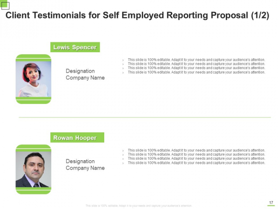 Self_Employed_Reporting_Proposal_Ppt_PowerPoint_Presentation_Complete_Deck_With_Slides_Slide_17