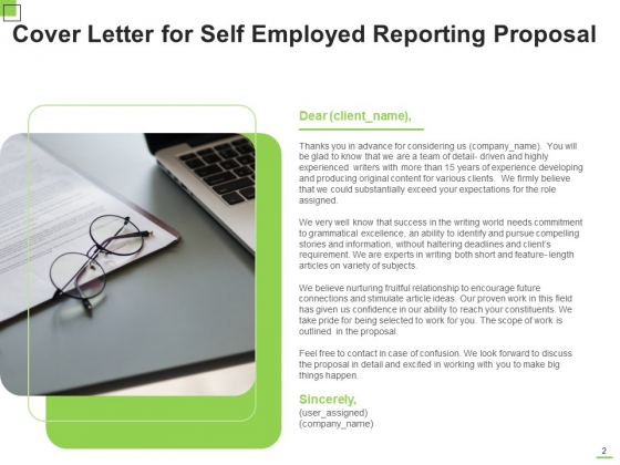 Self_Employed_Reporting_Proposal_Ppt_PowerPoint_Presentation_Complete_Deck_With_Slides_Slide_2