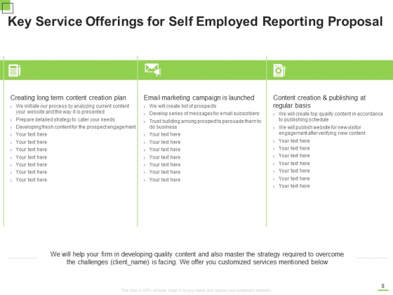 Self_Employed_Reporting_Proposal_Ppt_PowerPoint_Presentation_Complete_Deck_With_Slides_Slide_8