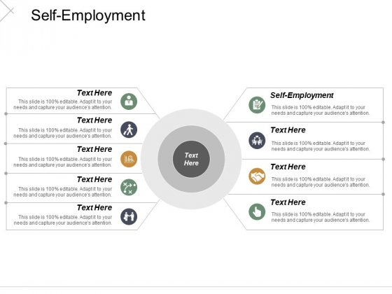 Self Employment Ppt Powerpoint Presentation Show Visual Aids Cpb