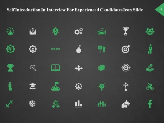 Self_Introduction_In_Interview_For_Experienced_Candidates_Ppt_PowerPoint_Presentation_Complete_Deck_With_Slides_Slide_19