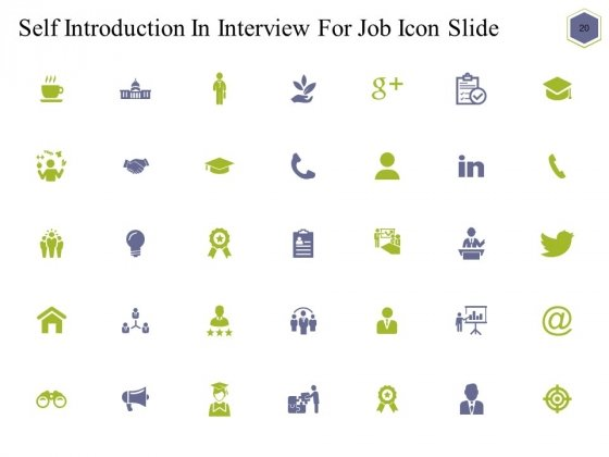 Self_Introduction_In_Interview_For_Job_Ppt_PowerPoint_Presentation_Complete_Deck_With_Slides_Slide_20