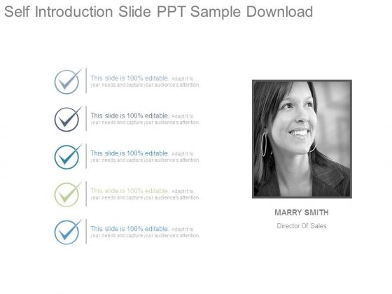 self introduction slide ppt sample download - powerpoint templates, Presentation templates