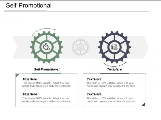 Self Promotional Ppt PowerPoint Presentation Show Ideas Cpb