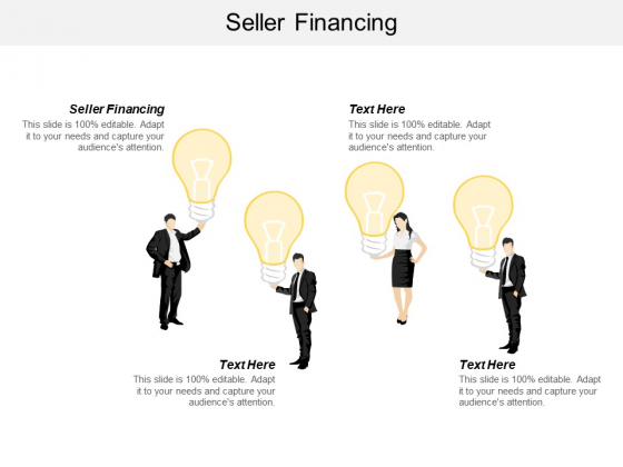 Seller Financing Ppt PowerPoint Presentation Portfolio Graphics Cpb
