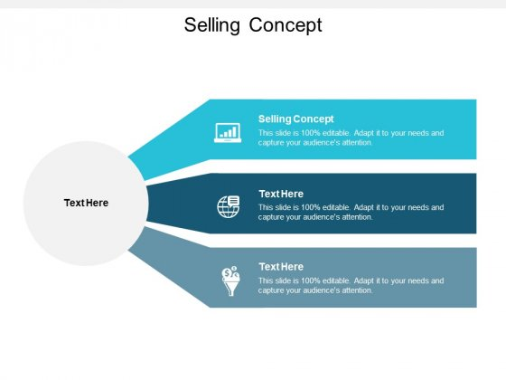 Selling Concept Ppt Powerpoint Presentation Model Slides Cpb