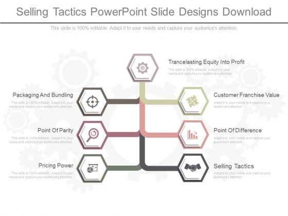 Selling Tactics Powerpoint Slide Designs Download