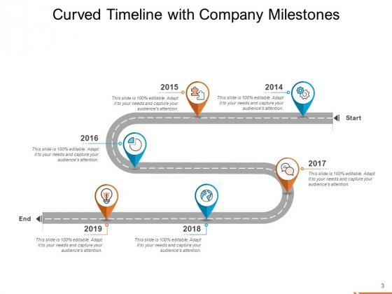 Semicircle_Timeline_Curved_Five_Milestones_Ppt_PowerPoint_Presentation_Complete_Deck_Slide_3