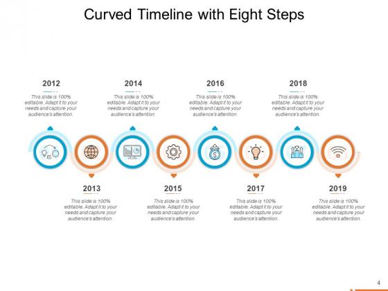 Semicircle_Timeline_Curved_Five_Milestones_Ppt_PowerPoint_Presentation_Complete_Deck_Slide_4